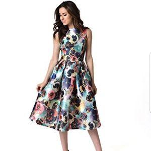 "NWT Chi Chi London ""Alyssa"" dress"